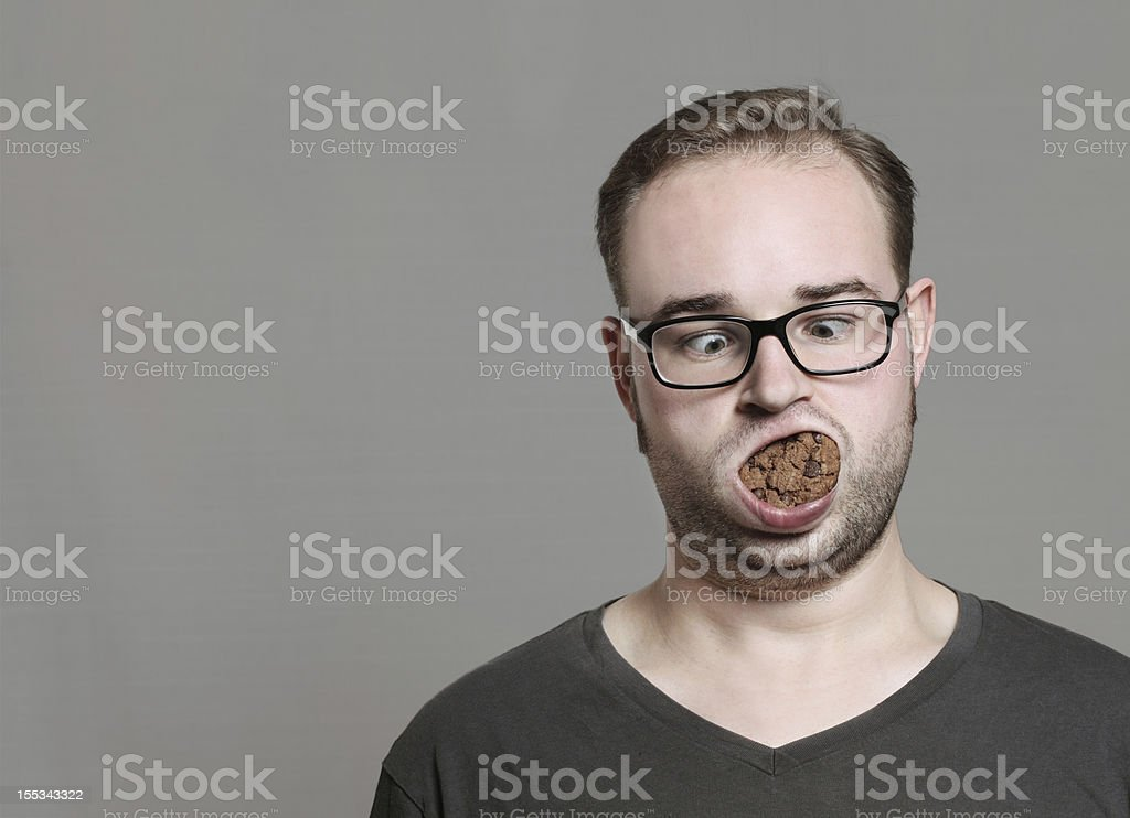 i like cookies stock photo