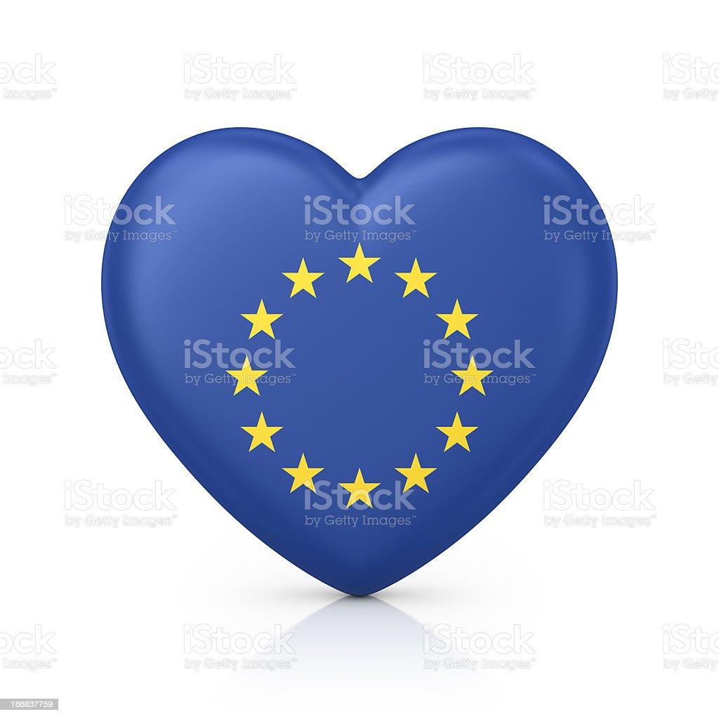 i love EU royalty-free stock photo
