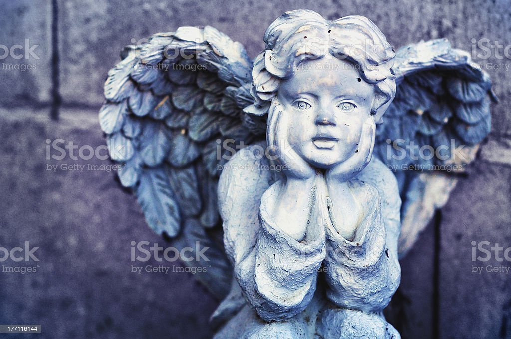 i think about angels stock photo