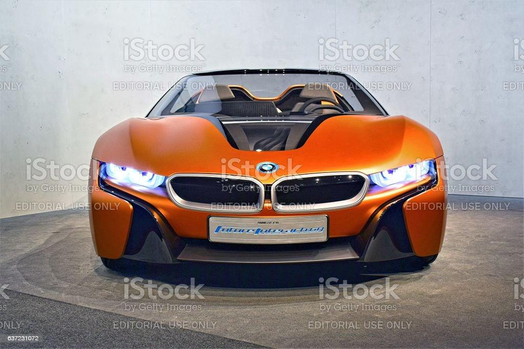 BMW i Vision Future Interaction - foto de stock
