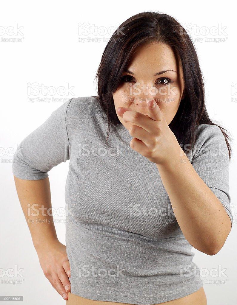 i want you! royalty-free stock photo