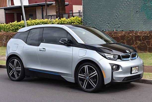 BMW i3 Electric Car stock photo