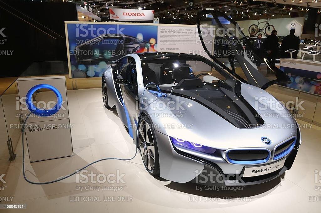 BMW i8 concepto - foto de stock