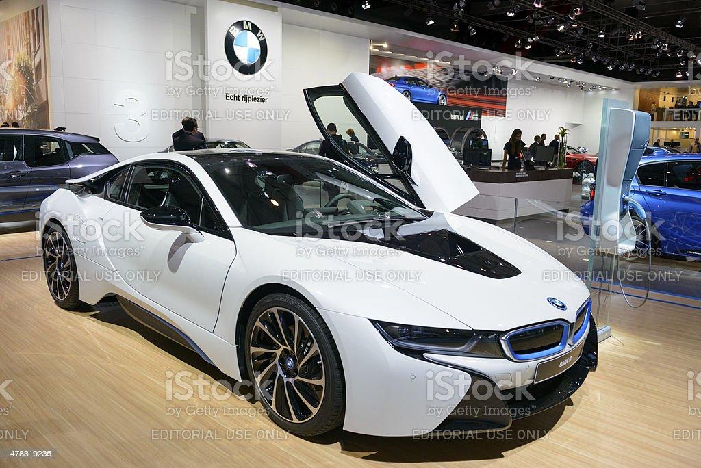 BMW i8 híbrido - foto de stock