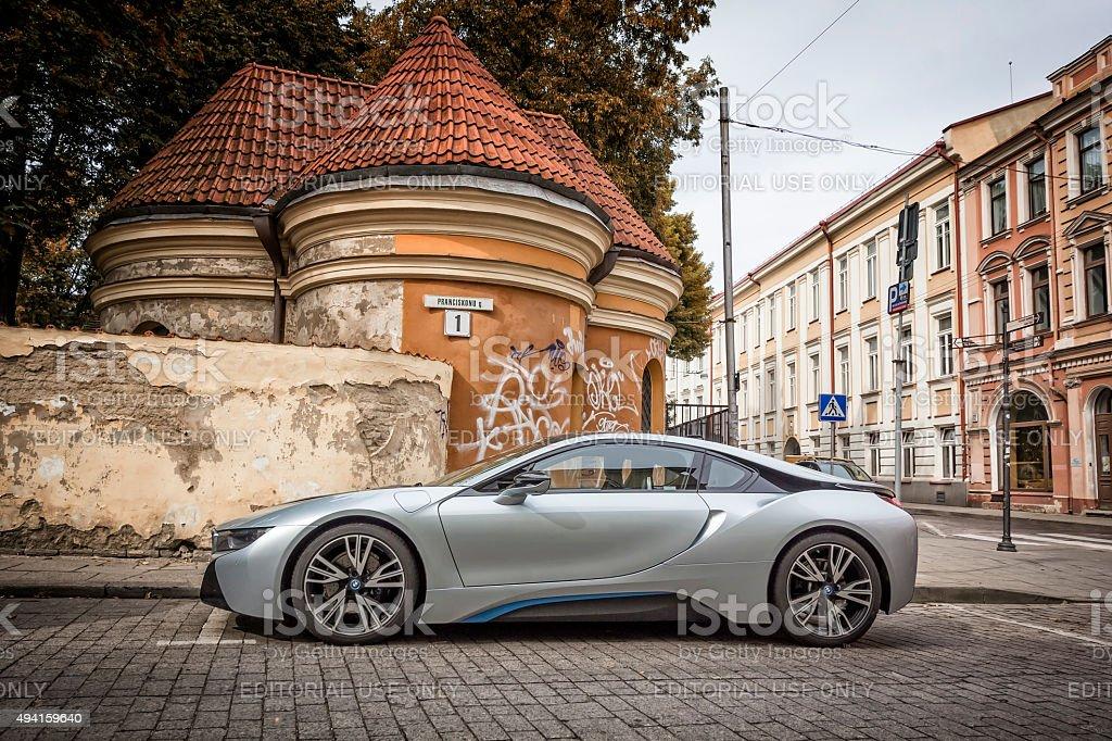 BMW i8 - foto de stock