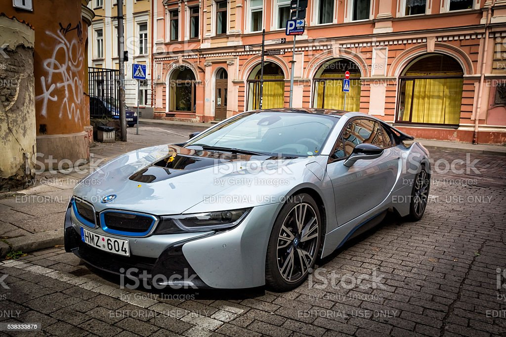 BMW i8 stock photo