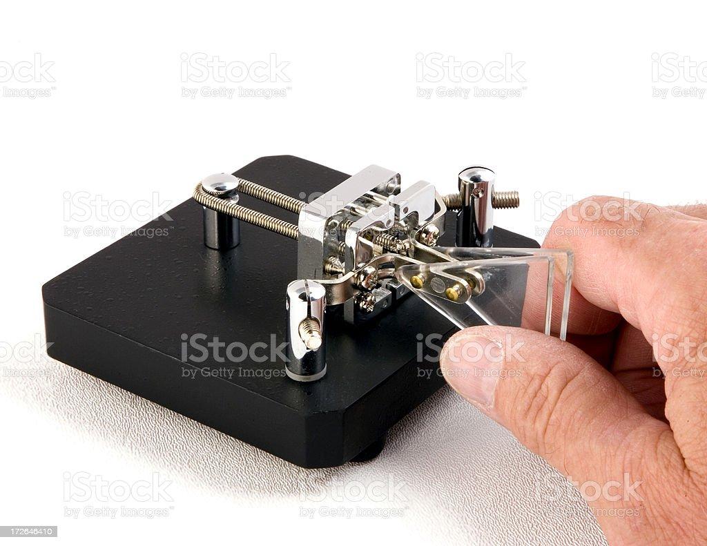 Iambic Key Paddle 2 Stock Photo - Download Image Now - iStock