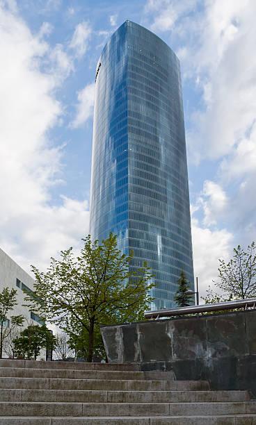 Iberdrola tower stock photo