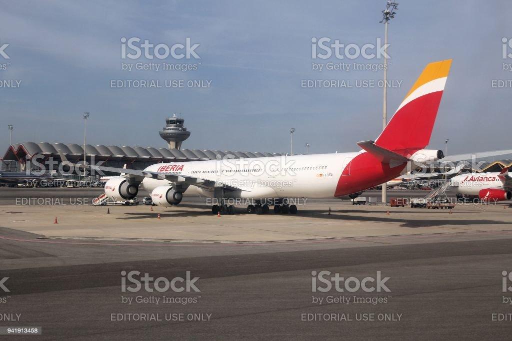 Iberia Airbus A340 - Photo