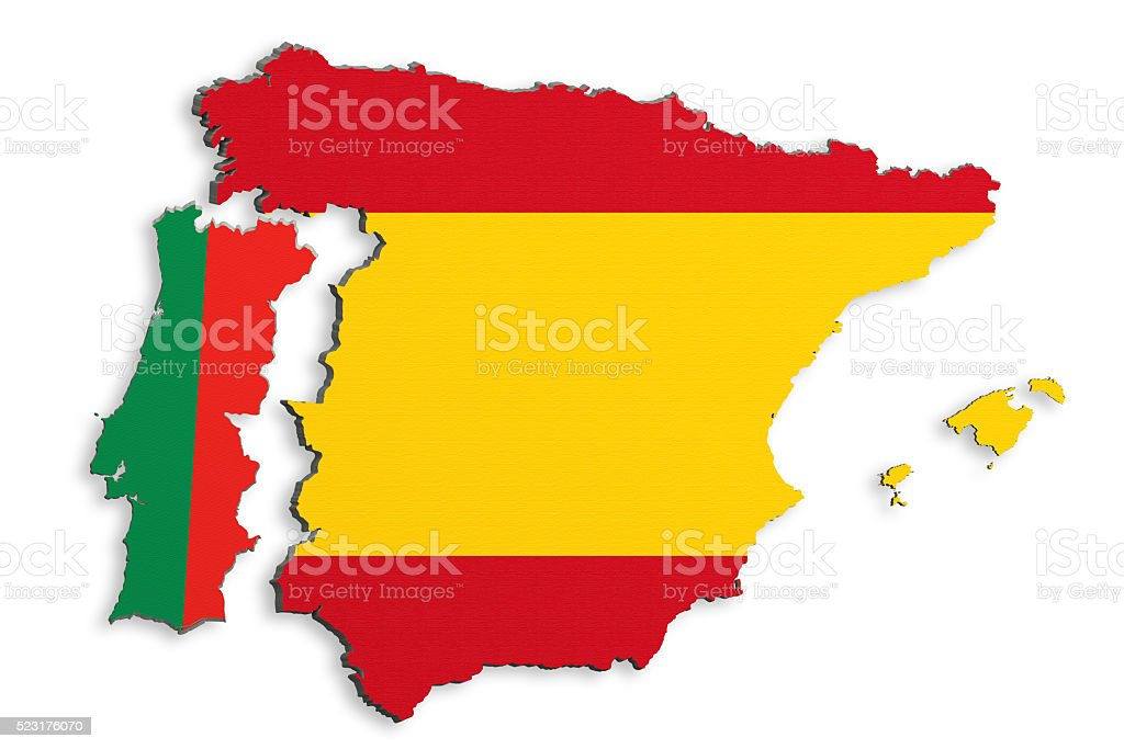 Image of: Iberian Peninsula Map Stock Photo Download Image Now Istock