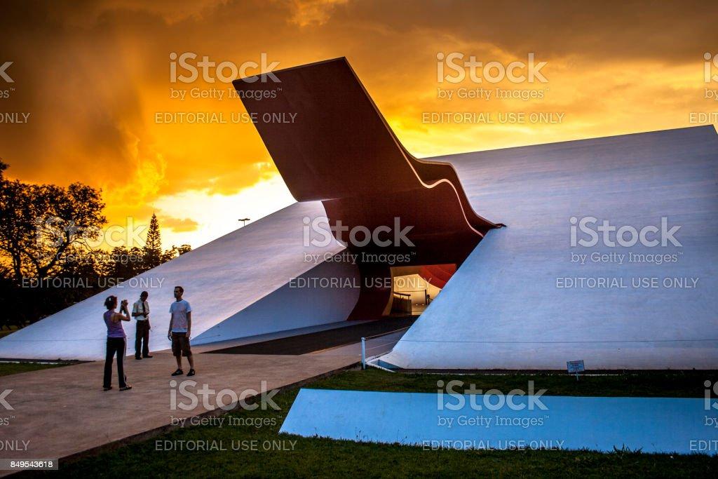 Ibirapuera Auditorium stock photo