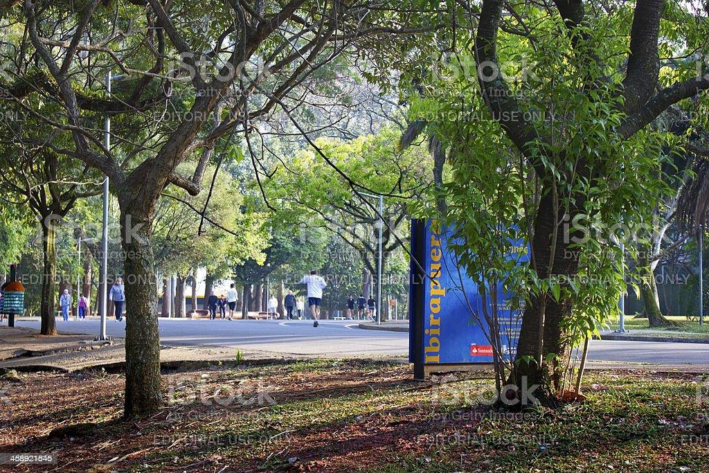 Ibirapuera Park royalty-free stock photo