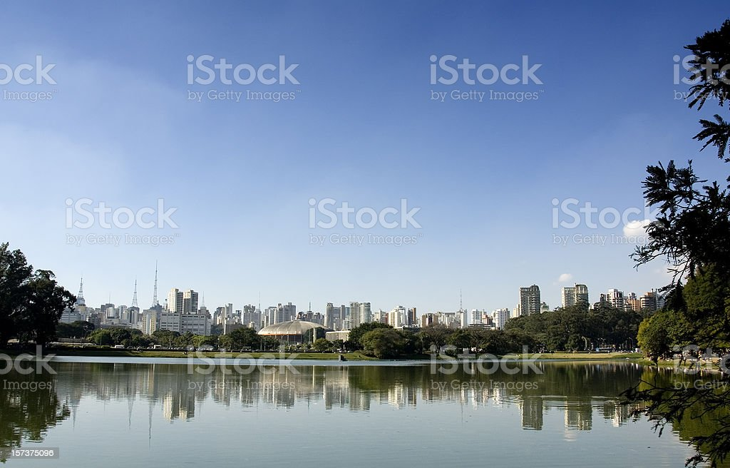 Ibirapuera Park, Sao Paulo, Brazil royalty-free stock photo