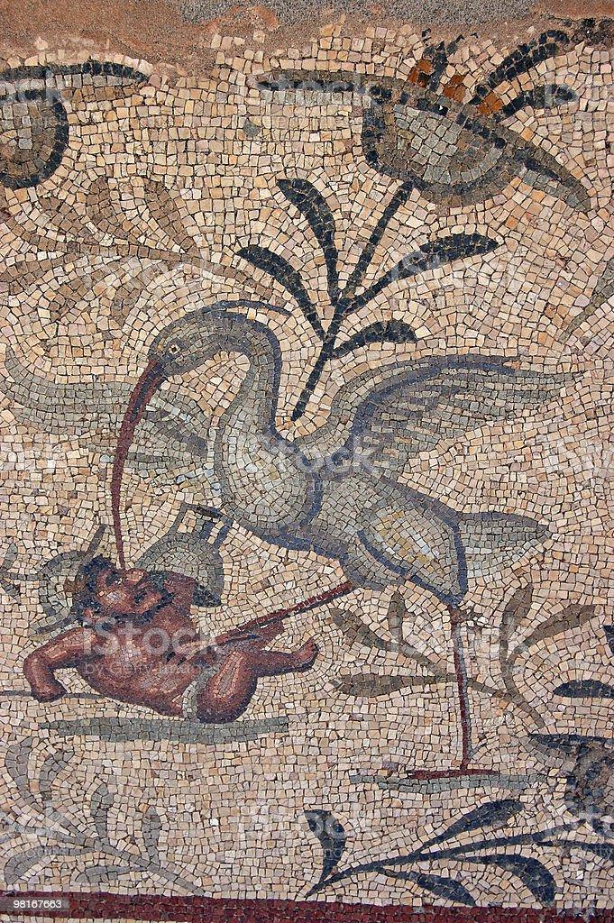 Ibis Attack mosaic royalty-free stock photo
