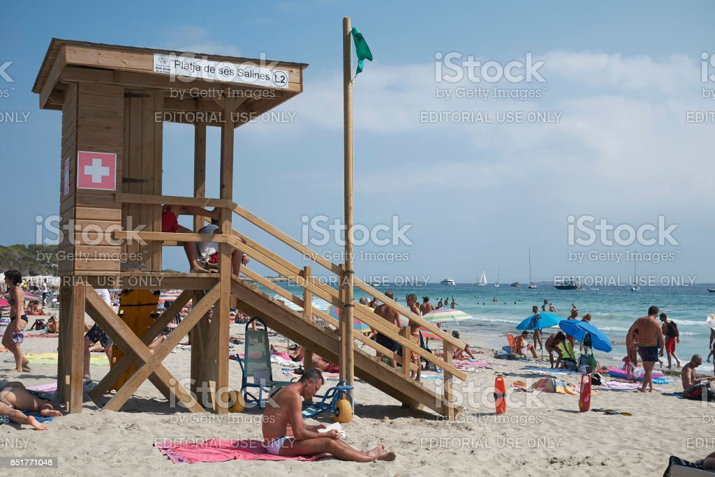 Ibiza, Balearic Islands, Spain stock photo