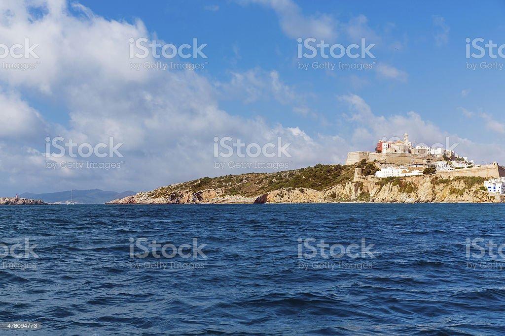Ibiza island royalty-free stock photo