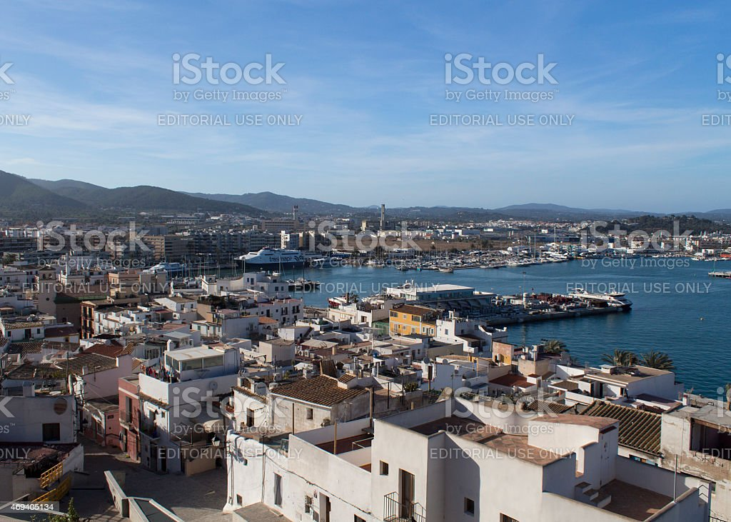 Ibiza stock photo