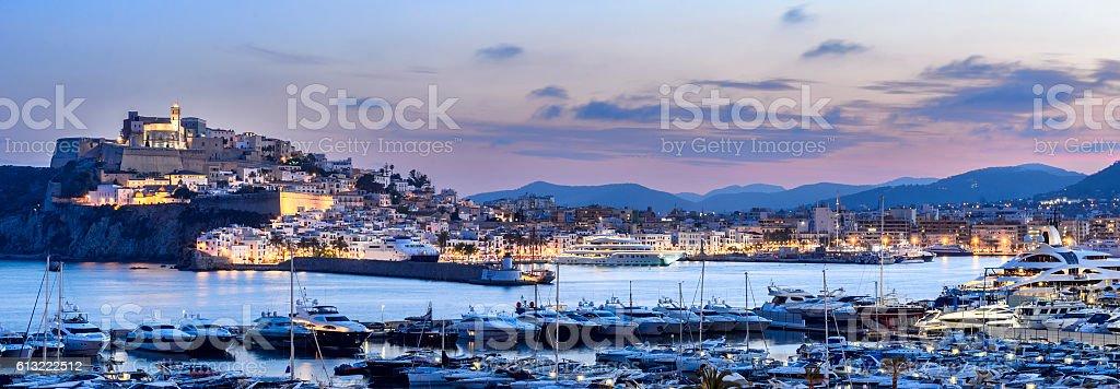 Ibiza Port stock photo