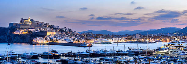 Ibiza Port stock photo