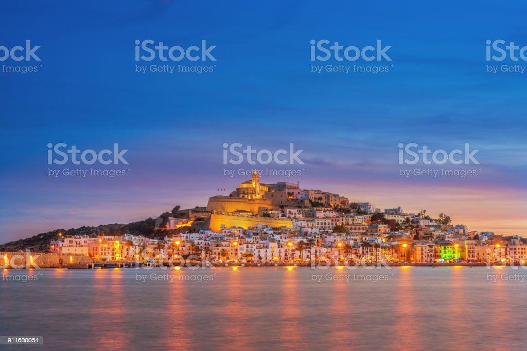 Ibiza Town - foto stock