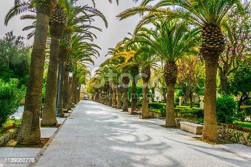 Ibleo gardens in Ragusa, Sicily, Italy