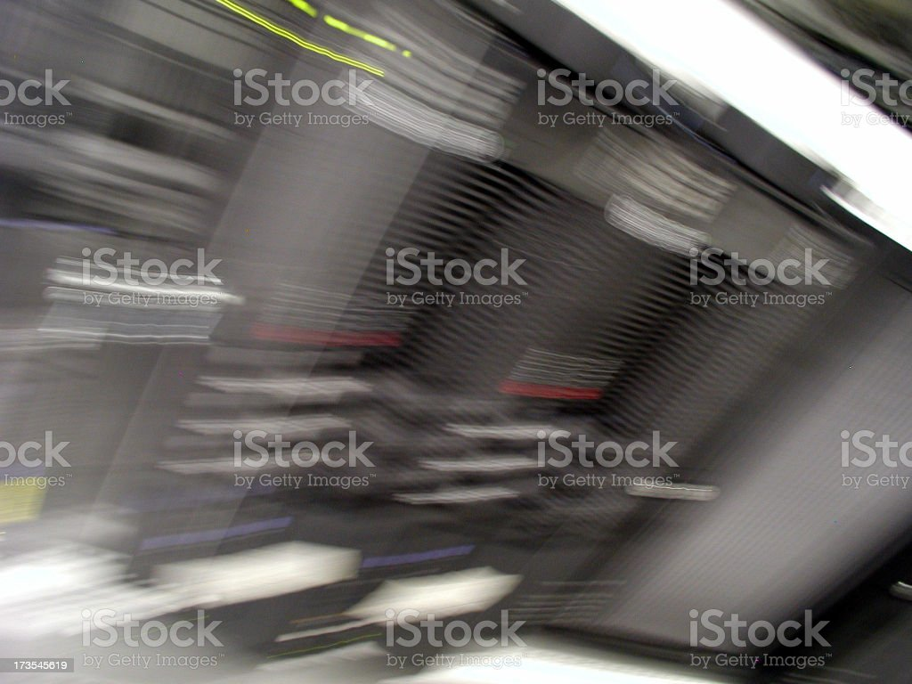 ibm servers royalty-free stock photo