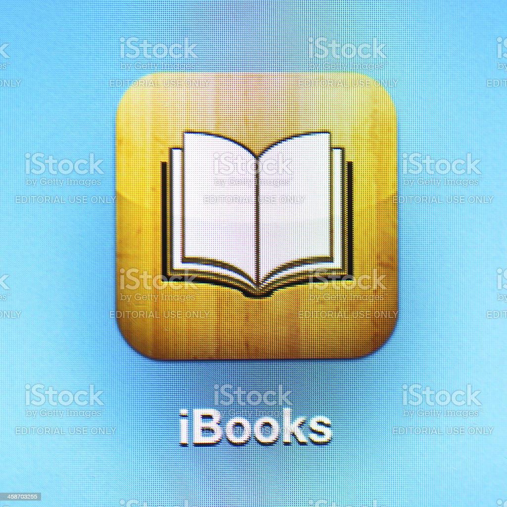 iBooks icon royalty-free stock photo