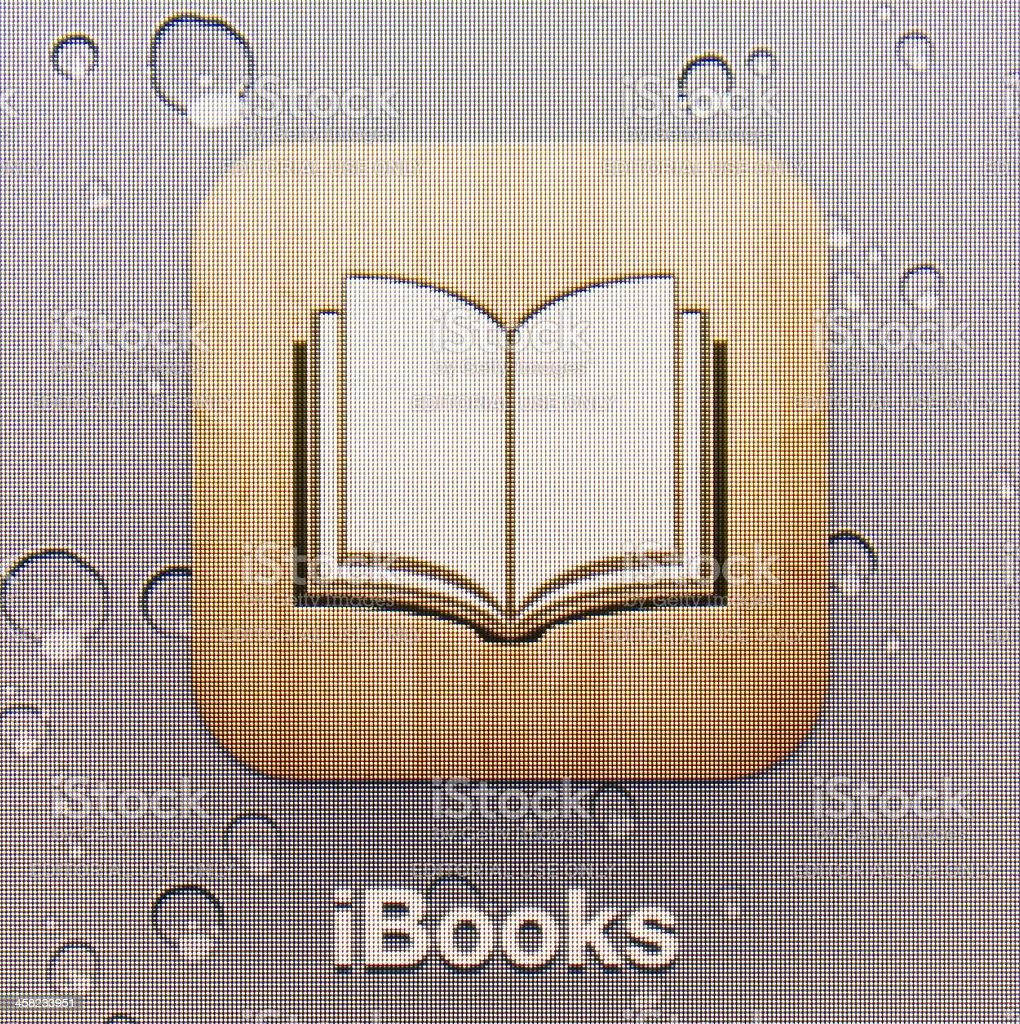 iBooks royalty-free stock photo