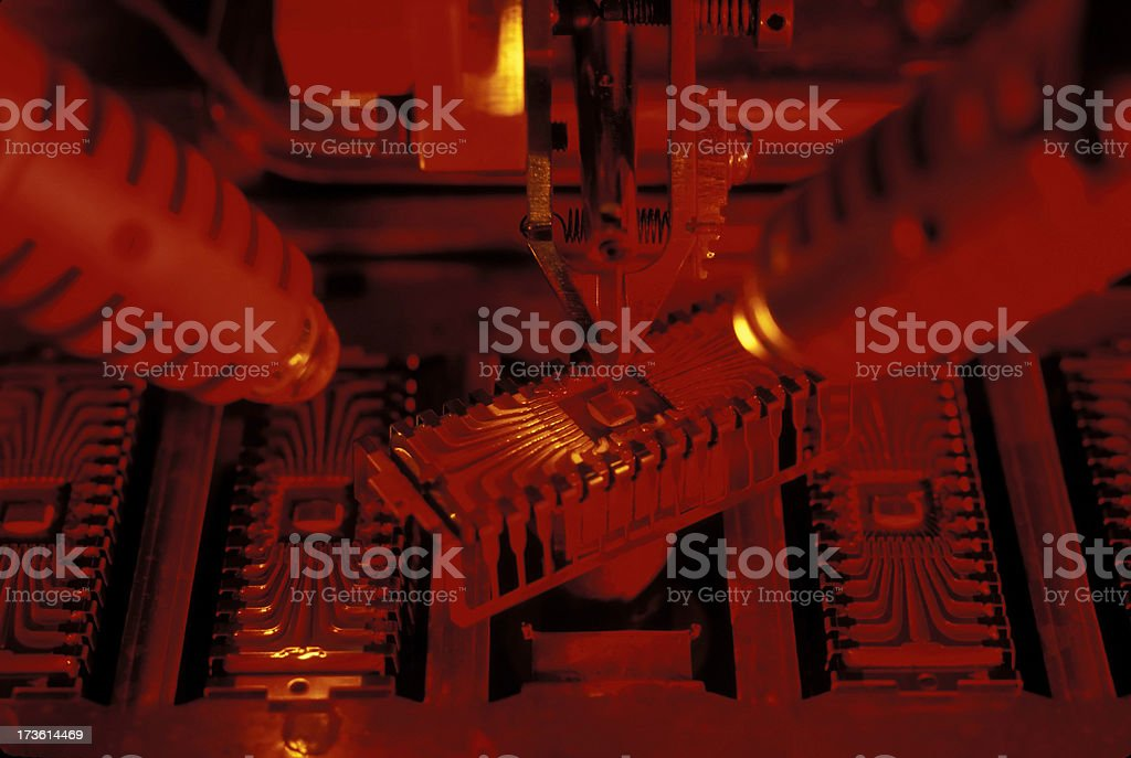 ic microchip electronics industry royalty-free stock photo