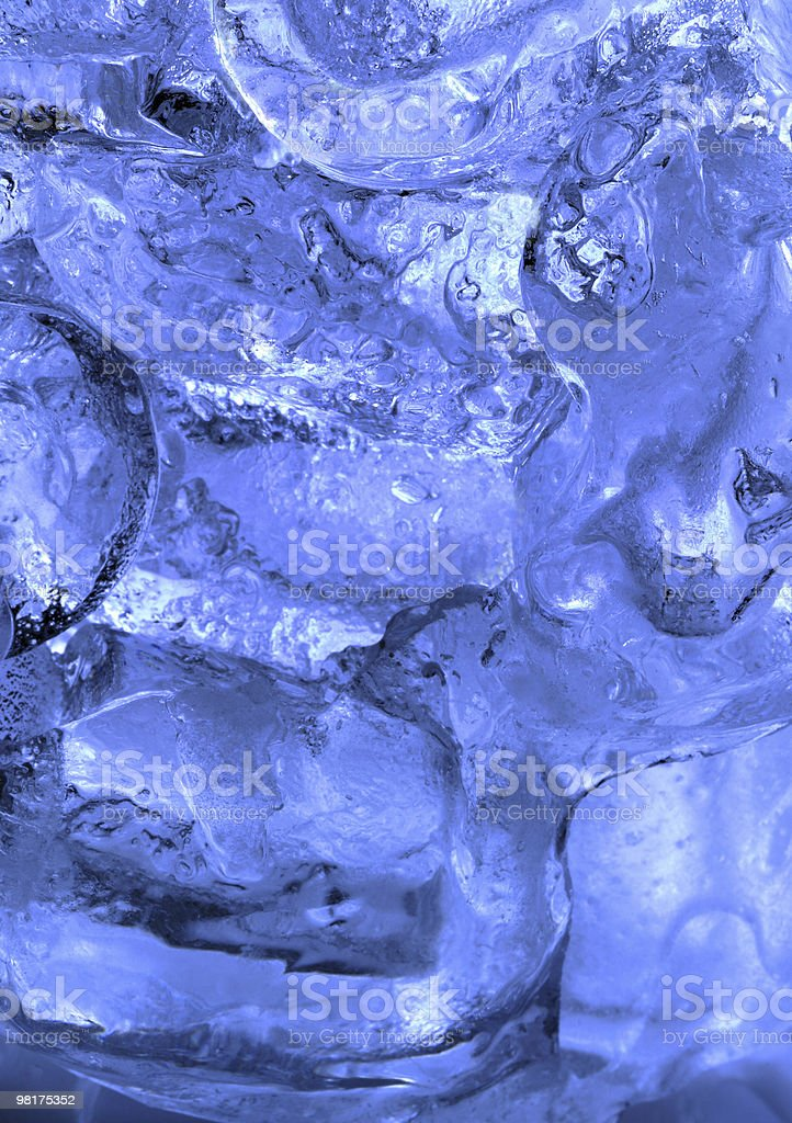 Ice Abstract royalty-free stock photo