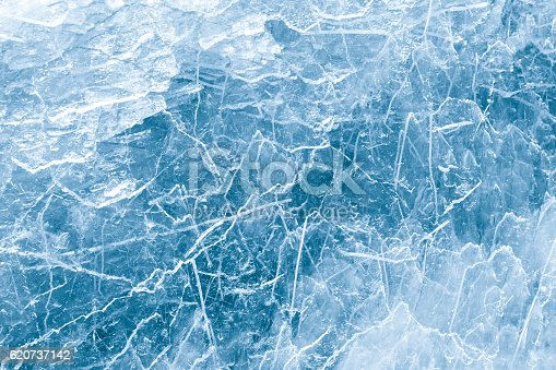 Ice abstraction background, pattern
