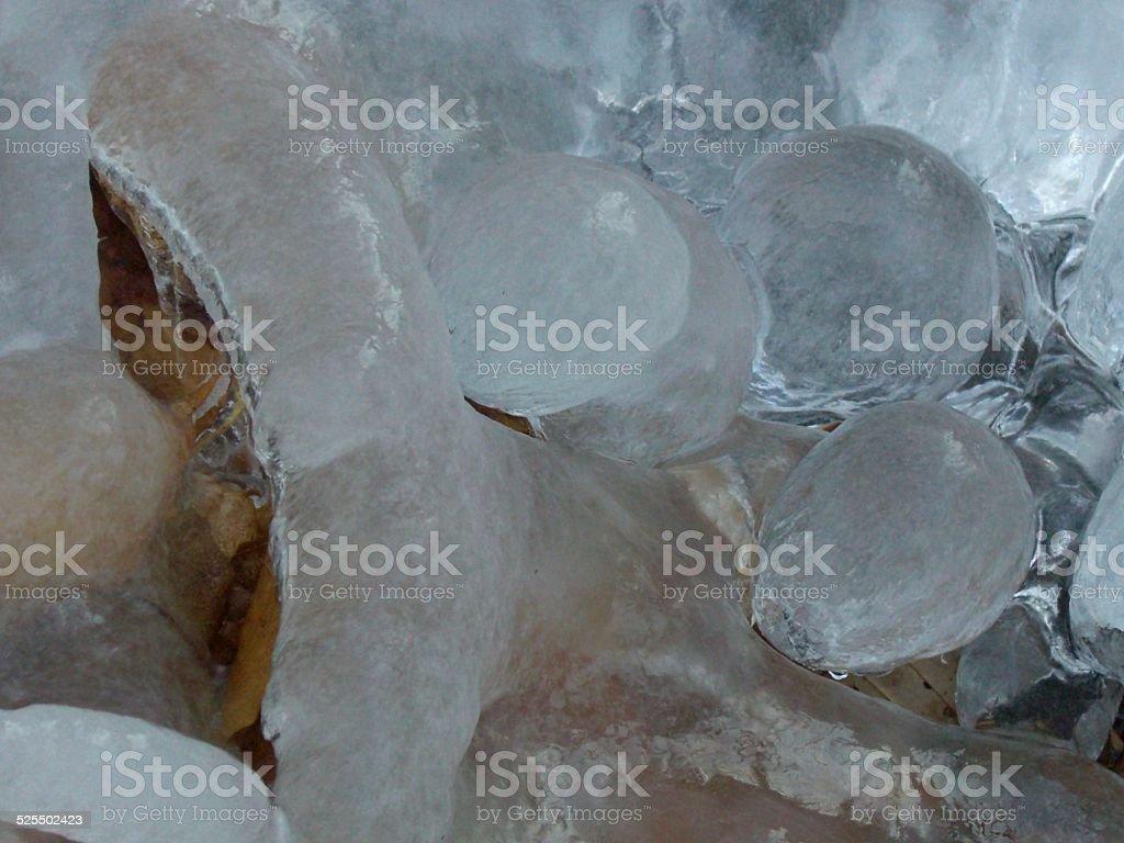 Ice and Light stock photo