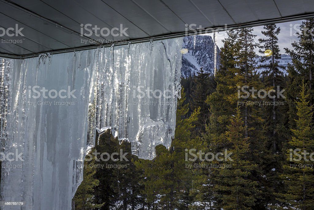 Ice and Snow royalty-free stock photo