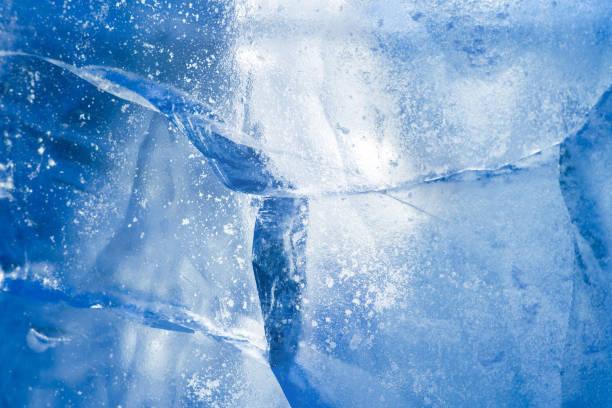 Ice background. stock photo