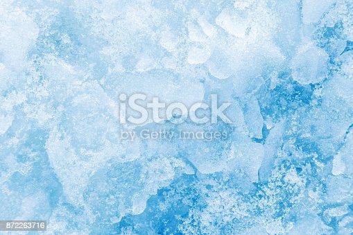 Full frame image of ice.