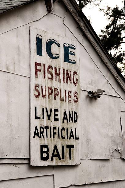 Ice & Bait stock photo