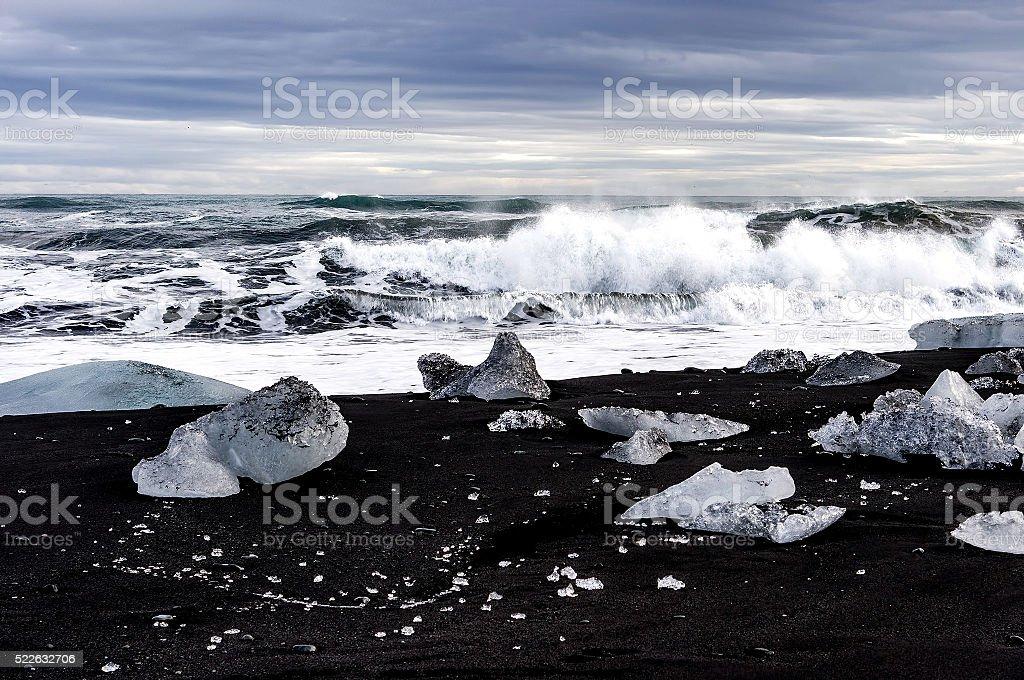 Ice Beach royalty-free stock photo