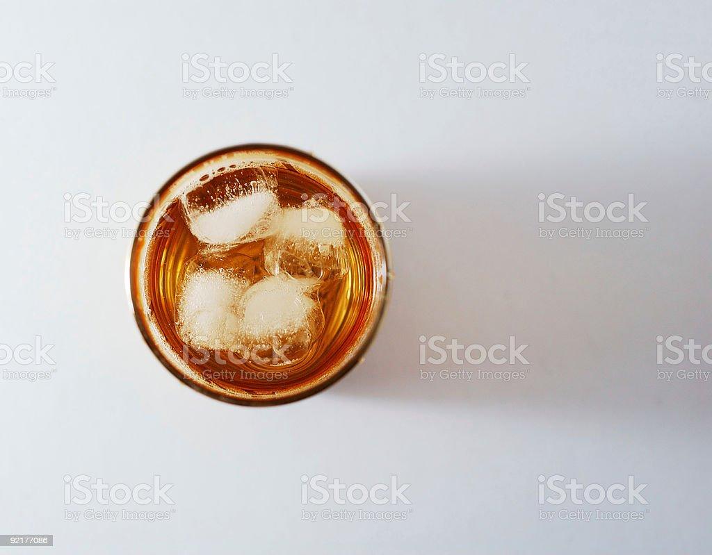 Ice beverage royalty-free stock photo