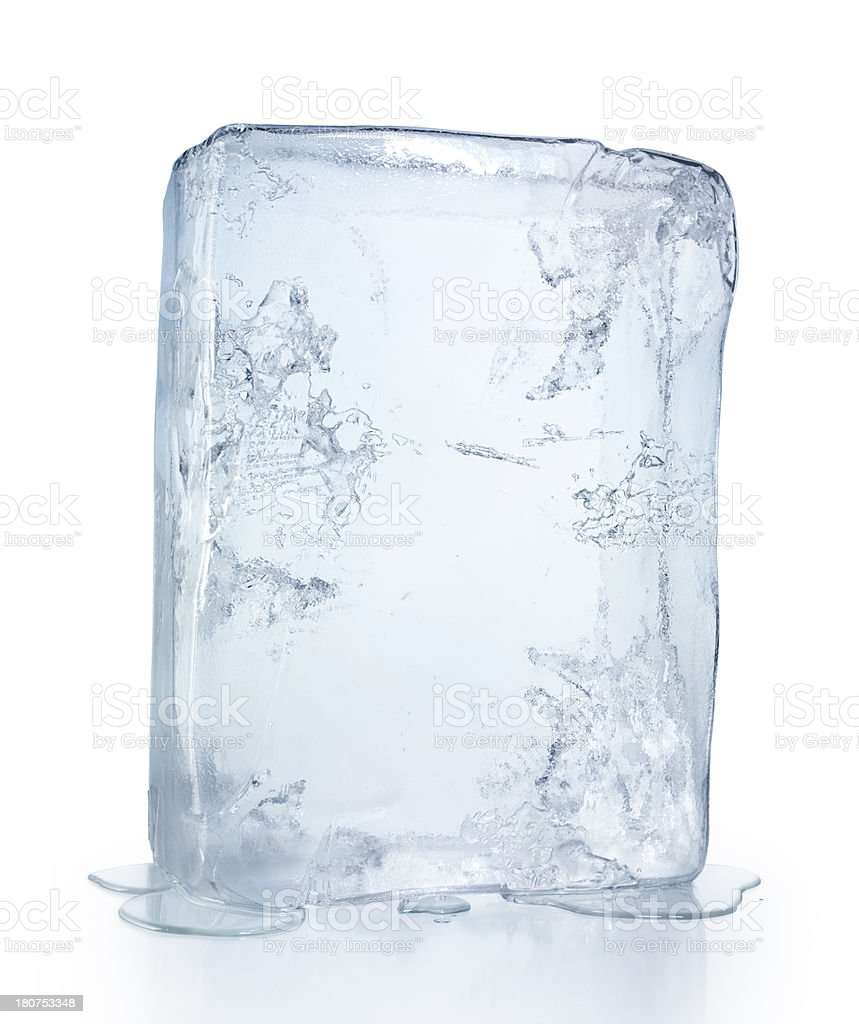 Ice Block royalty-free stock photo