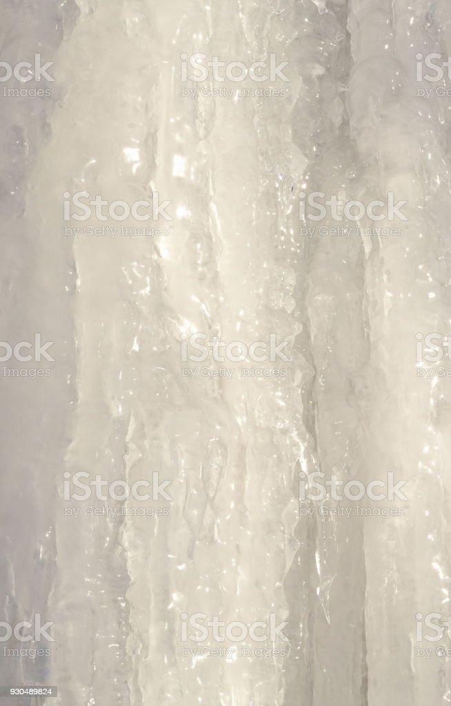 Ice block. Texture, background. stock photo