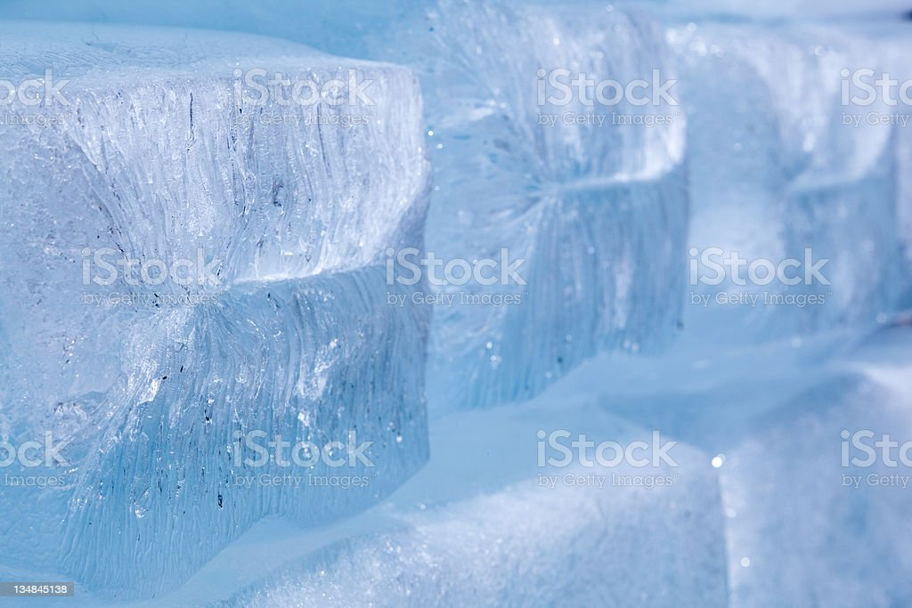 Ice blocks royalty-free stock photo