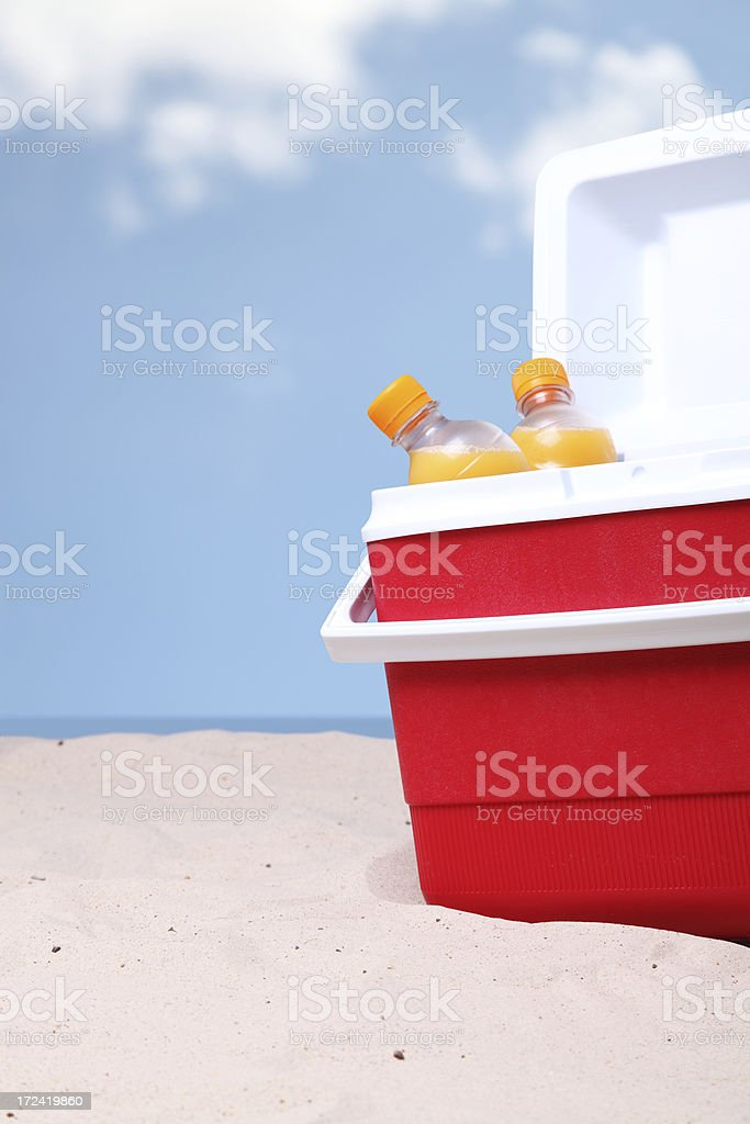 Ice Box stock photo