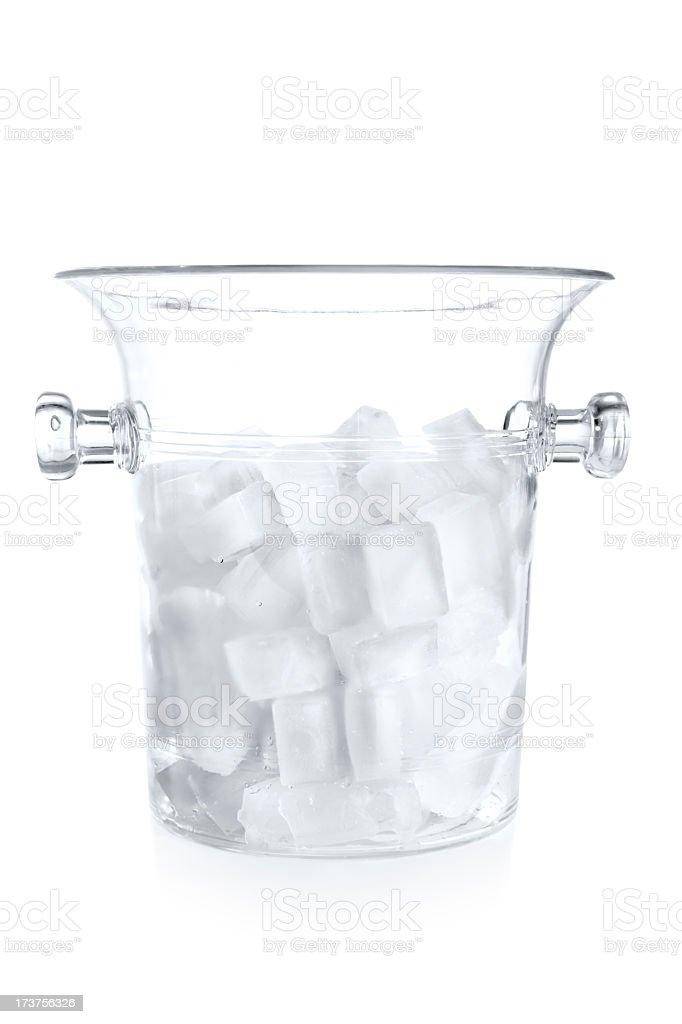 balde de gelo - foto de acervo
