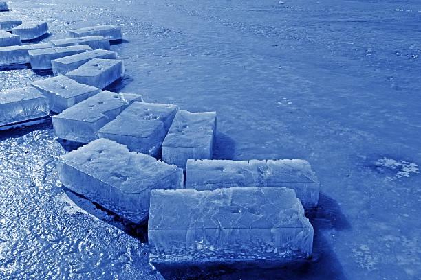 ice am Fluss – Foto