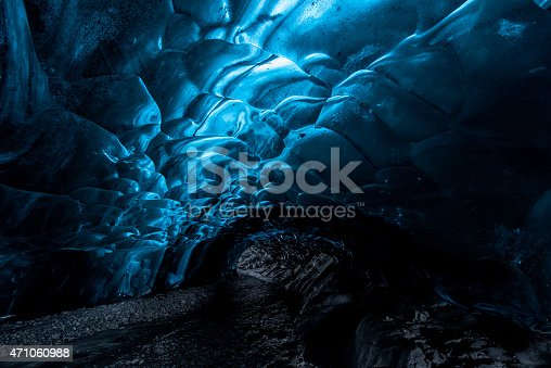 istock ice cave in a glacier in Iceland 471060988