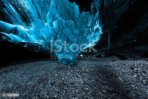 istock ice cave in a glacier in Iceland 471060994
