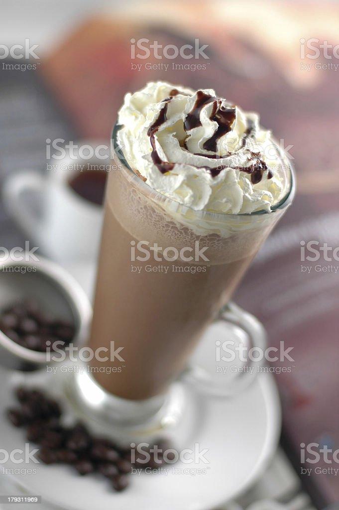 ice chocolate royalty-free stock photo
