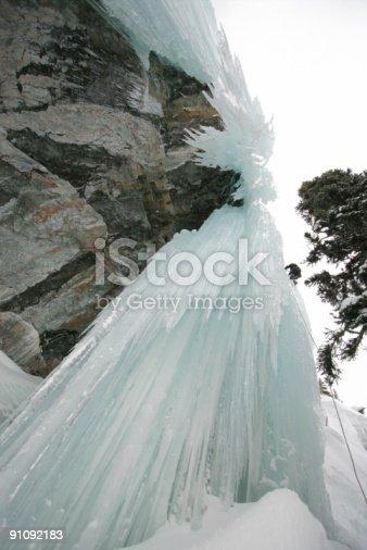 istock Ice Climber 91092183