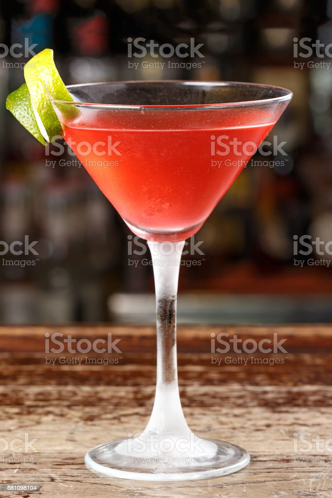 Ice cocktail cosmopolitan royalty-free stock photo