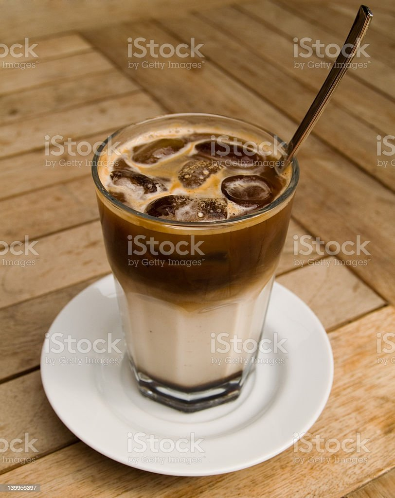 Ice coffee royalty-free stock photo